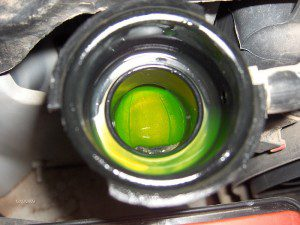 clean engine coolant