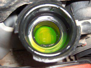 clean engine coolant
