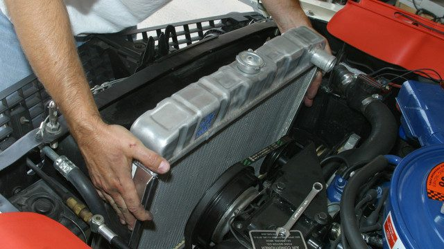 Radiator - It's Primary Task Is To Keep The Engine Cool