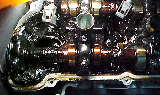 engine oil sludge