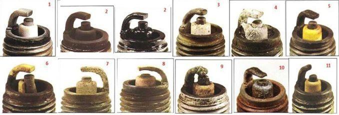 spark-plug condition