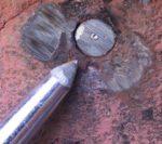 Center Punch Broken Stud