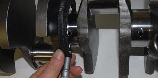 Measure crankshaft