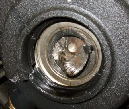 Broken Crankshaft Position Sensor