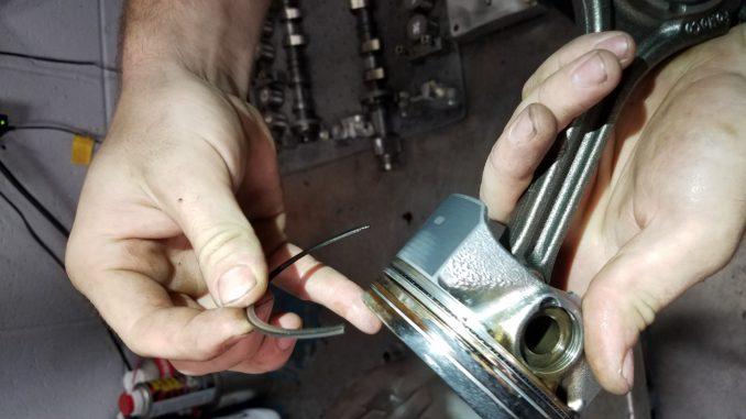 Broken Piston Ring