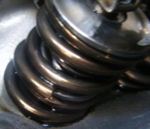 Cracked Valve Springs