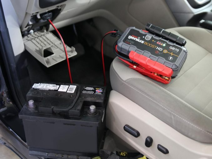 Car Battery - Disconnect