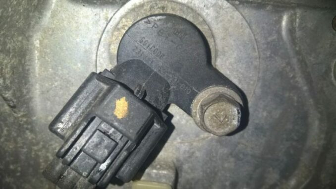 Crankshaft Position Sensor on Jeep Cherokee Crankshaft Position Sensor Location