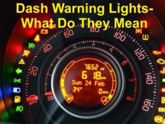 Dash Warning Lights