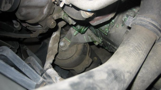 Engine Coolant Leaks