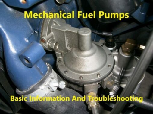 Mechanical Fuel Pumps Basic Information And Troubleshooting