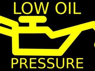 Low Oil Pressure