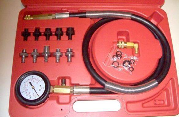 Engine Oil Pressure Test Gauge