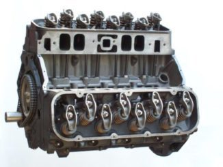Engine Replacement-Rebuilt Engine