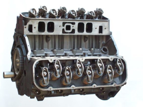 Engine Replacement-Rebuilt Engine