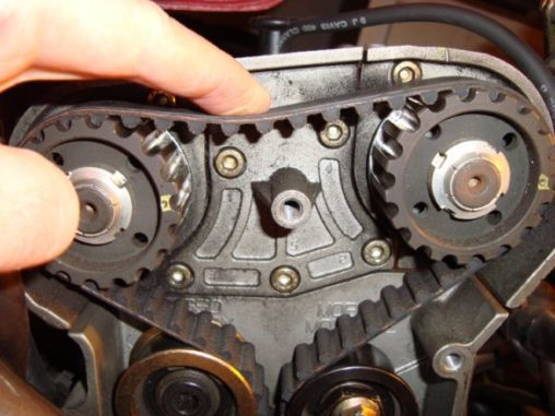 Dannys Auto Parts >> Timing Belt - Transfers The Rotation Of The Crankshaft To ...