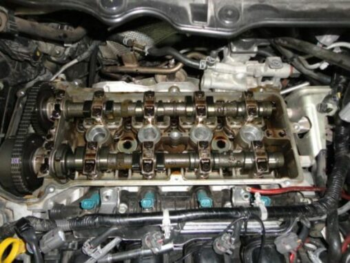 valve train noise    coming    bad