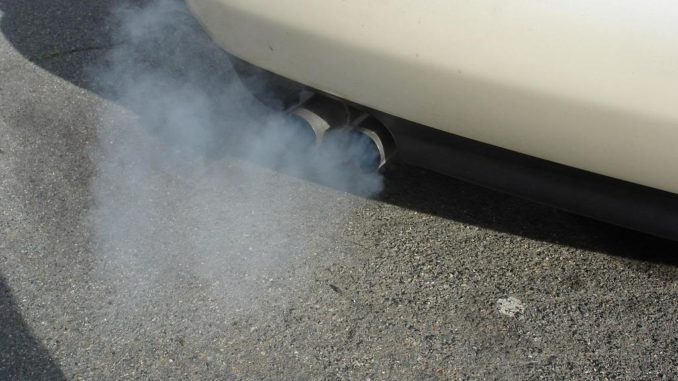 White Exhaust Smoke